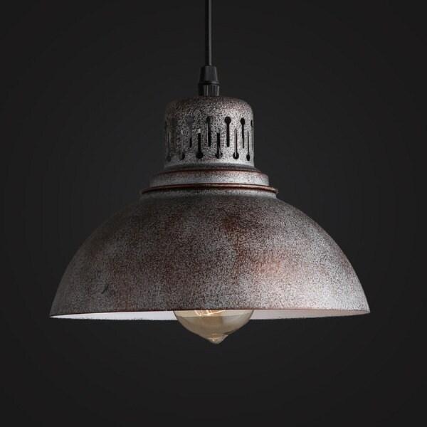old warehouse pendant lamp industrial lighting vintage. Black Bedroom Furniture Sets. Home Design Ideas