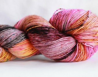POTION - Speckle dyed super wash merino single ply yarn  100 Grams (400 yards) #1 free shipping