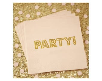"Towels ""Party!"""