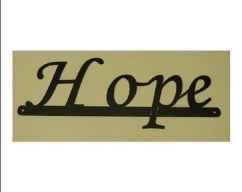 Inspirational Words - Hope Sign