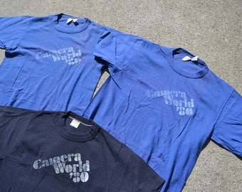 Super Duper Cool Vintage 1980 Camera World T-Shirts