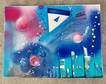 Painting: Space Under Water