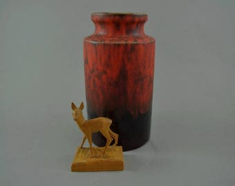 Vintage vase made by Scheurich / 203 18 | West German Pottery | 60s