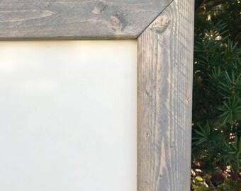 Whiteboard Sign, Rustic Whiteboard, Framed Whiteboard Sign, Wooden Whiteboard, Custom Whiteboard, Large Dry Erase Board, Office Whiteboard