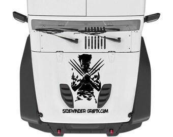Wolverine Vinyl Decal