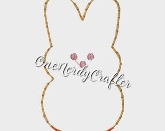Easter Peep Flasher Feltie Embroidery Digital Design File