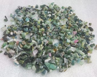 1000 carat mix color Tourmaline rough crystal from Afghanistan