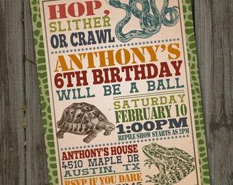 Slither etsy reptile birthday invitation reptile party reptile party invitation snake party reptile invitation reptile birthday party printable filmwisefo