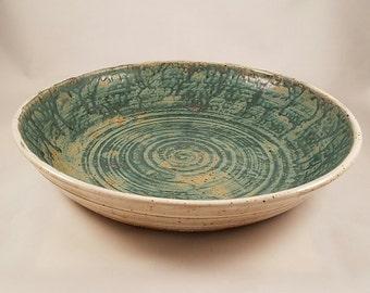 Platter, large, round