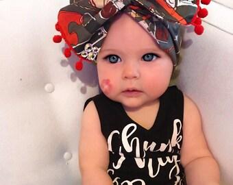 Nayleah Rose Makeup Headwrap