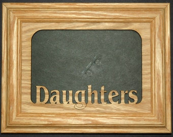 Daughters Picture Frame 5x7