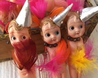 One Little Vintage Carnival Celluloid Kewpie Just FoR You