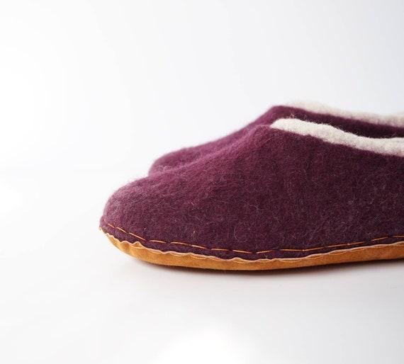 wool clogs women felt wool unisex natural felted slippers shoe felt slippers slipper wool felted slippers felt Wool clogs men wY4Rqx