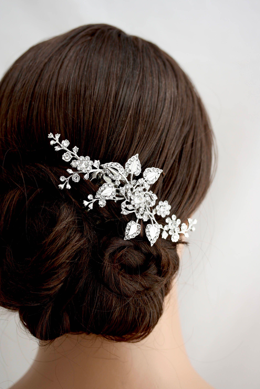 bridal hair comb wedding hair piece wedding hair accessories