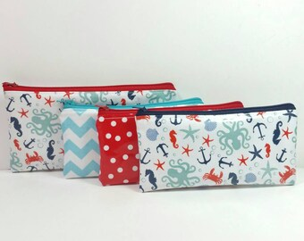 LAMINATED Kids Cash Envelope Wallet, Kids Cash Budget System, Give, Save, Spend -Ocean Sea- READY to SHIP