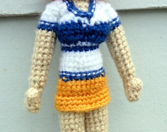 Nami (One Piece) - Handmade crochet original design doll