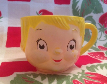 Vintage 1960's Campbell's Soup Child's Promo Cup
