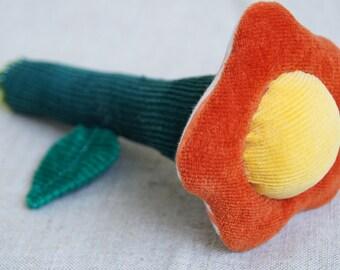 Baby rattle Flower