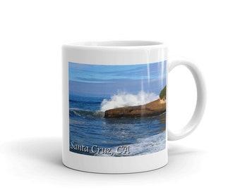Santa Cruz, CA - Mug made in the USA