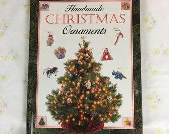 Handmade Christmas Ornaments book by Jane Johnston / Publications International ©1993 / holiday decor / Christmas tree / holiday crafting