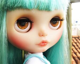 Realistic Brown Blythe Doll Eyechip