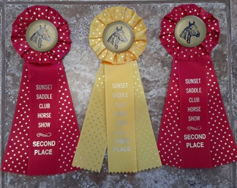 1980s Horse Show Ribbons