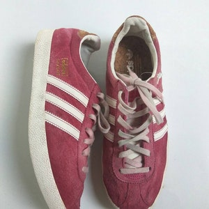 Adidas Gazelle Vintage Purple Color Unisex Sneaker Shoes Casual Wear Size  6.1/2uk
