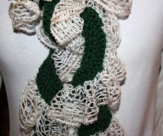 Knitting Pattern For Ruffle Scarf Easy Knit Scarf Pattern