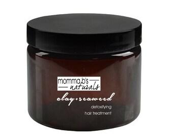 Hair Mask Treatment Detox Clay & Seaweed