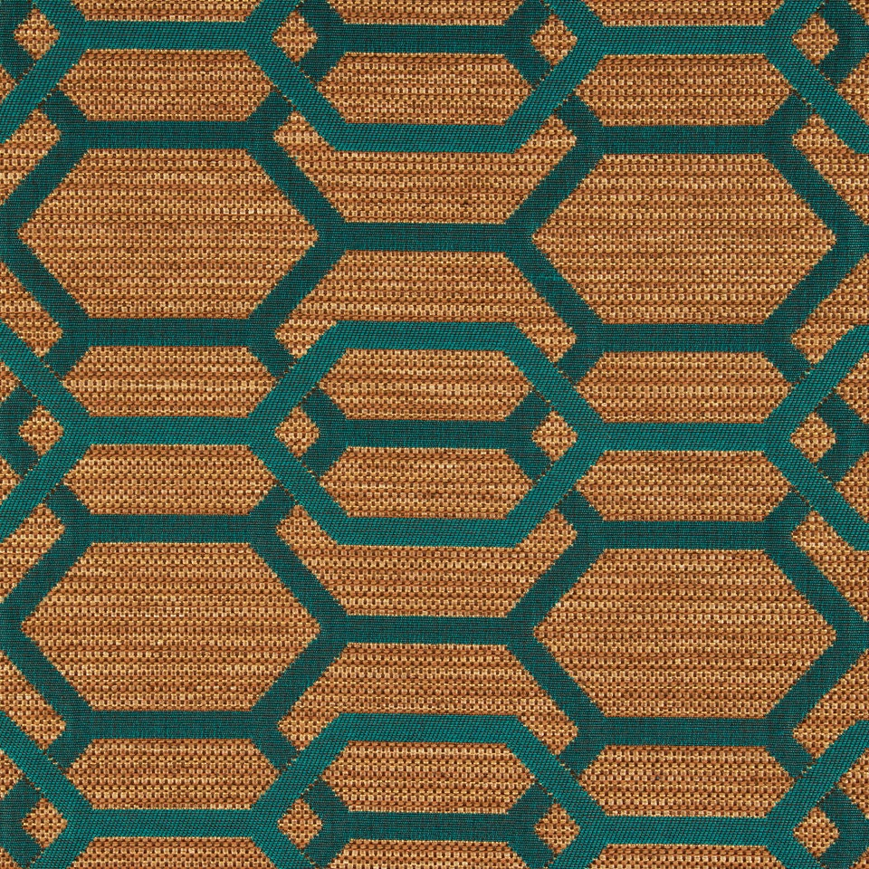 Merveilleux Teal Green Geometric Upholstery Fabric   Teal Furniture Fabric   Modern  Kitchen Chair Material   Geometric Home Decor   Fabric Stores Online