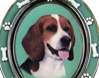 Beagle Double Sided Beagle Spinning Keychain With Beagle Face Made Of Heavy Quality Metal Perfect for Pet Lovers