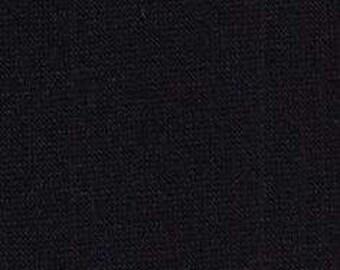"Black Poly Blend Sweatshirt Fabric 60"" Wide"