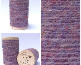 Rustic Moire Wool Thread #704 for Embroidery, Wool Applique and Punch Needle Embroidery
