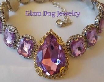 Violet Pet Necklace
