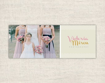 Facebook Timeline Template - Wedding Photography Timeline - Facebook Photographer Cover - Wedding Facebook Cover - INSTANT DOWNLOAD