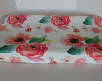 Floral Dreams Changing Pad Cover