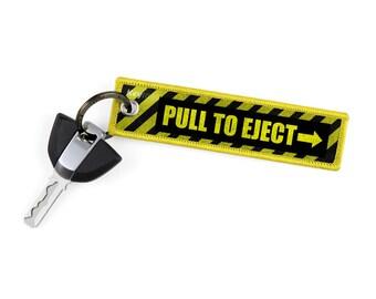 Pull To Eject Key Tags by KeyTails Bmw S1000 rr Ducati Ktm gsxr cbr Ninja Yamaha Honda Kawasaki Suzuki Cars Motorcycle Keyring Keychain