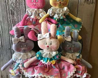 Little Easter Bunny Doll