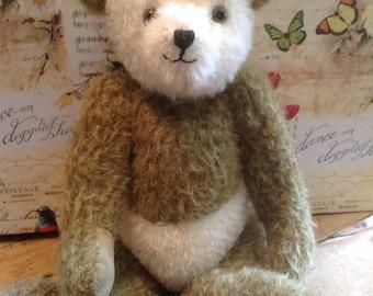 """Ollie, een 10"""" handgemaakte beperkte editie collector's mohair panda bear"""