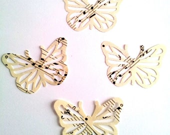 Lot 15 sheet music paper Butterfly