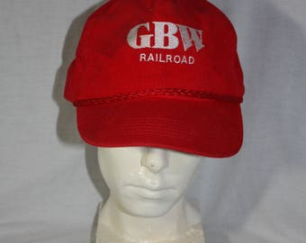 Vintage GBW Railroad Corduory Greenbay Rout