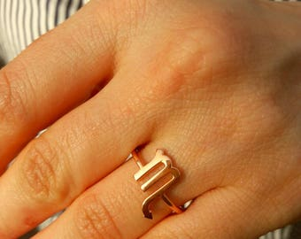 ebay gold elastic band fashion two scorpio long qbchtssw women fingers big metal ring bhp m jewelry rings scorpion
