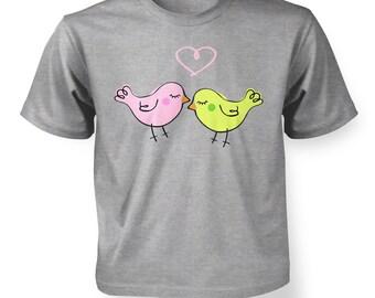 Lovebirds kids t-shirt