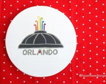 Orlando Love Mini Sign