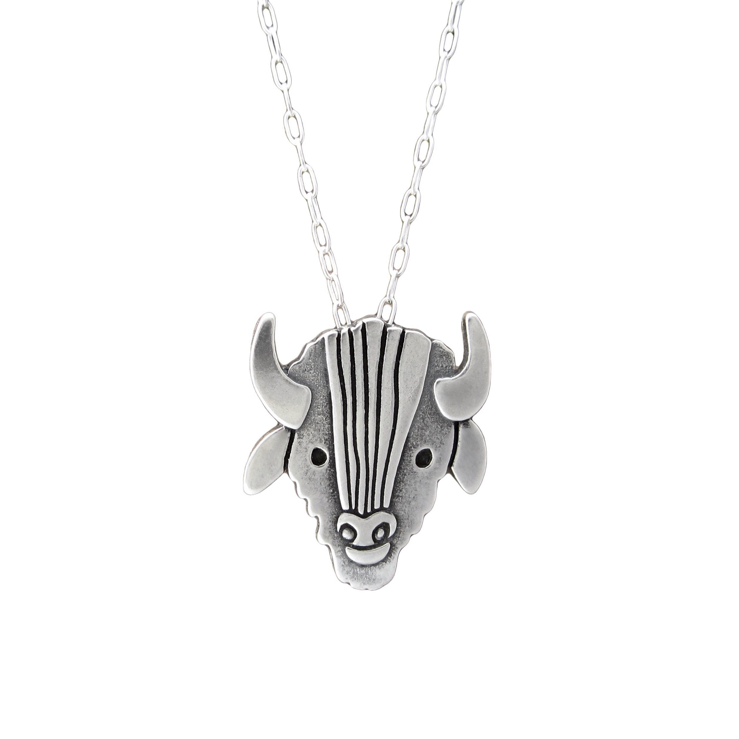 necklace black goat goathead products alex onyx streeter pendant