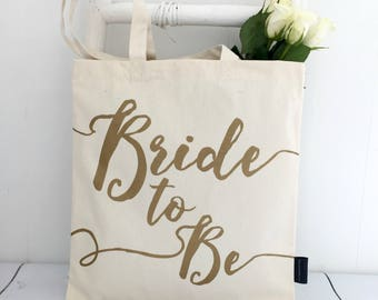 Bride To Be | Wedding Bag | Bridal Shower | Bachelorette | Wedding | Bride | Engagement Gift