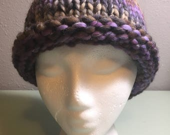 Big and Thick Wool Fall Winter Handknit Hat