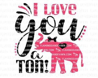 elephant svg cut, valentine elephant svg, i love you svg, love svg, heart svg, valentines animal svg, animal valentine svg, svg elephant