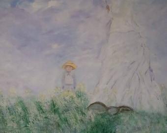 Monet's Lady