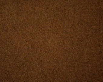 "Brown Felt Fabric 72"" Wide Per Yard"